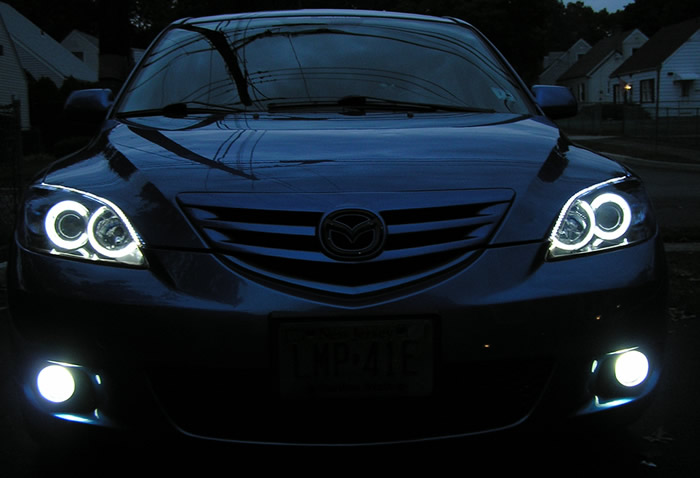 Комплект АГ Mazda 3 (Axella) TopHid - Автосвет.
